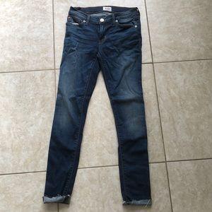 Hudson Jeans Krista Ankle Super Skinny Size 25